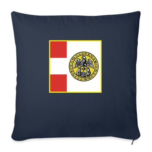 Bandiera Comunità Valsesia - Cuscino da divano 44 x 44 cm con riempimento