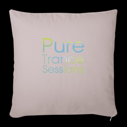 pts text hd - Sofa pillow with filling 45cm x 45cm