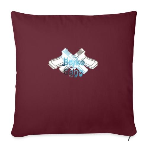 Borko - Poduszka na kanapę z wkładem 44 x 44 cm