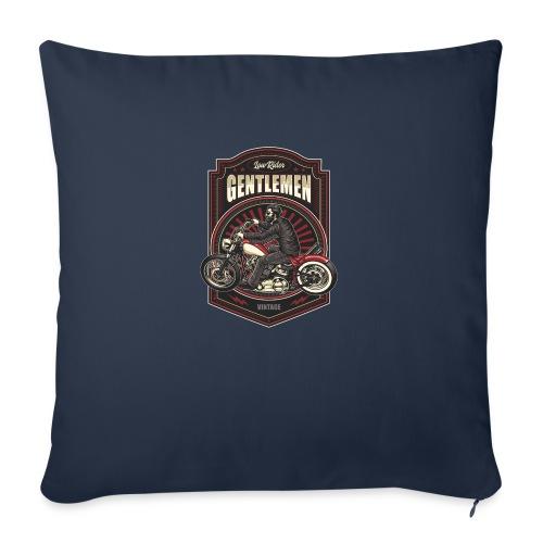 Gentlemen Biker Vintage - Cuscino da divano 44 x 44 cm con riempimento