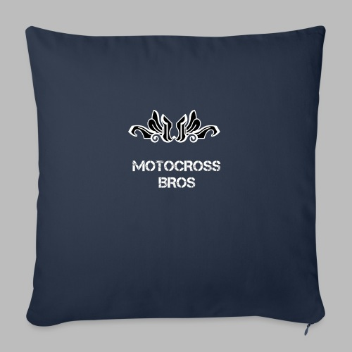 Motocrossbros - Soffkudde med stoppning 44 x 44 cm