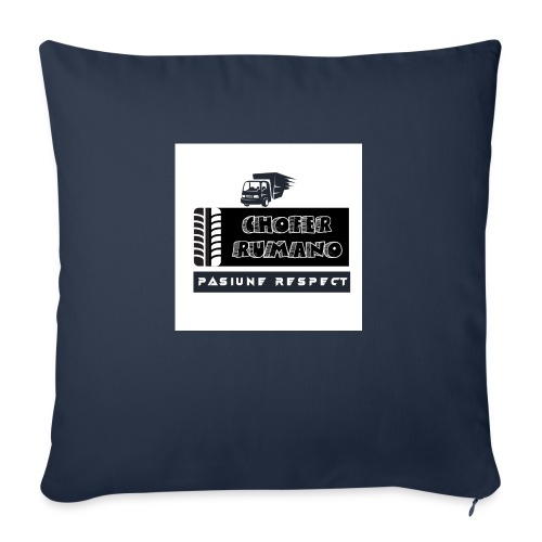 Chofer Rumano - Cojín de sofá con relleno 44 x 44 cm