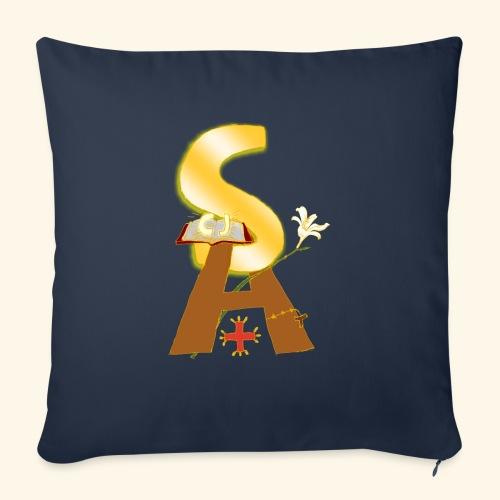 Saint Antony - Cuscino da divano 44 x 44 cm con riempimento