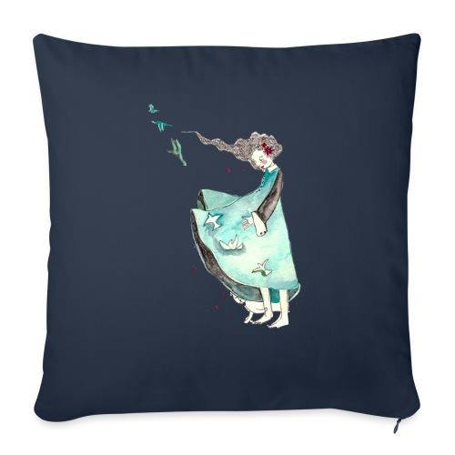 Parole in libertà - Cuscino da divano 44 x 44 cm con riempimento