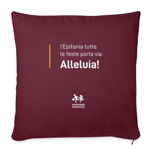 Epifanie - Cuscino da divano 44 x 44 cm con riempimento