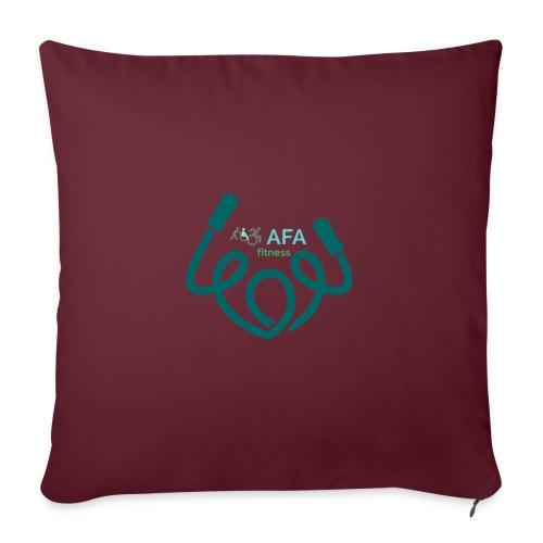 AFAfitness - Cuscino da divano 44 x 44 cm con riempimento