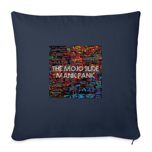 Manic Panic - Design 1 - Sofa pillow with filling 45cm x 45cm