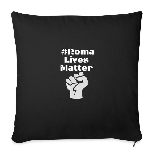 Fist Roma Lives Matter - Sofakissen mit Füllung 44 x 44 cm