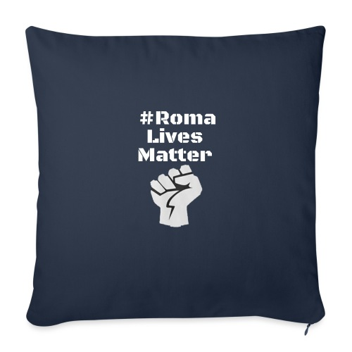 Fist Roma Lives Matter - Sofa pillow with filling 45cm x 45cm