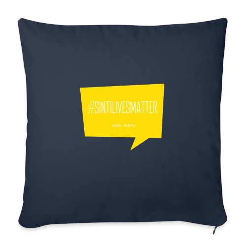 Sinti Lives Matter - Sofa pillow with filling 45cm x 45cm