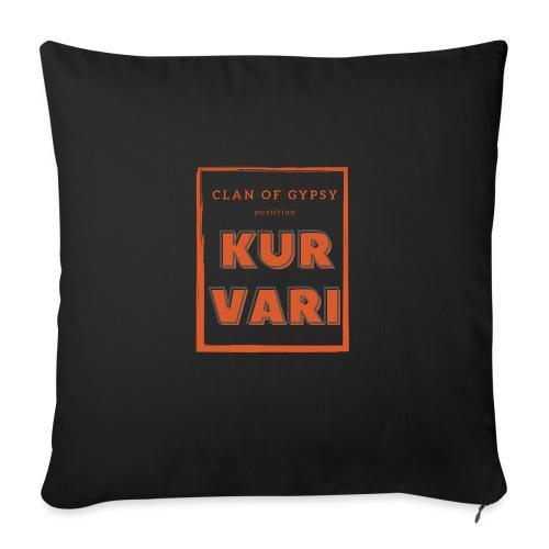 Clan of Gypsy - Position - Kurvari - Sofakissen mit Füllung 44 x 44 cm