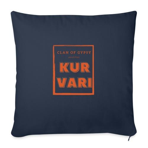 Clan of Gypsy - Position - Kurvari - Sofa pillow with filling 45cm x 45cm