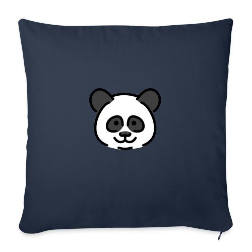 panda head / cabeza de panda - Cojín de sofá con relleno 44 x 44 cm