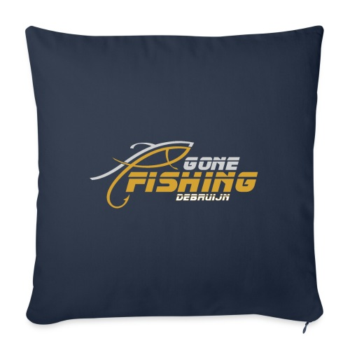 GONE-FISHING (2022) DEEPSEA/LAKE BOAT G-COLLECTION - Sofa pillow with filling 45cm x 45cm
