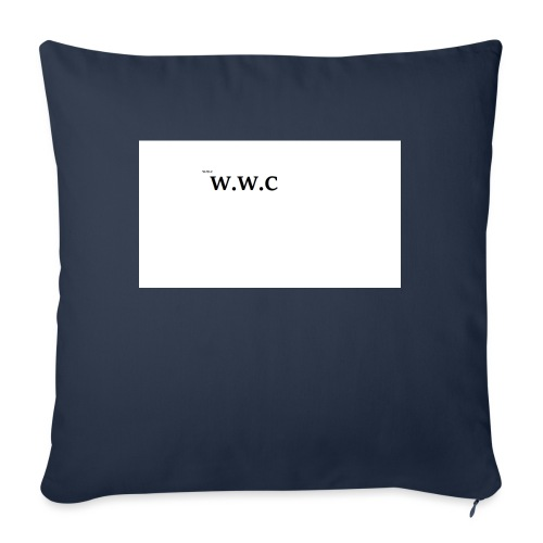White Wolf Clothing - Sofapude med fyld 44 x 44 cm