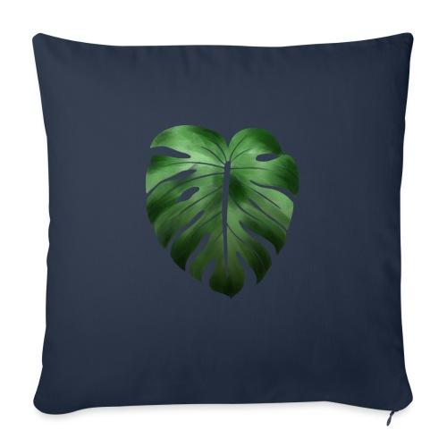 Foglia dalla Natura - Cuscino da divano 44 x 44 cm con riempimento