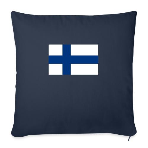 800pxflag of finlandsvg - Sohvatyynyt täytteellä 44 x 44 cm