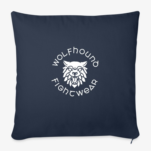logo round w - Sofa pillow with filling 45cm x 45cm
