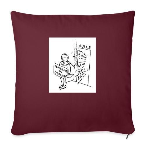 prof da guardia - Cuscino da divano 44 x 44 cm con riempimento