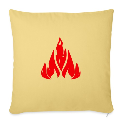 fire - Sofa pillow with filling 45cm x 45cm