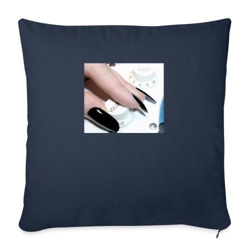 Gothic guitar girl - Poduszka na kanapę z wkładem 44 x 44 cm