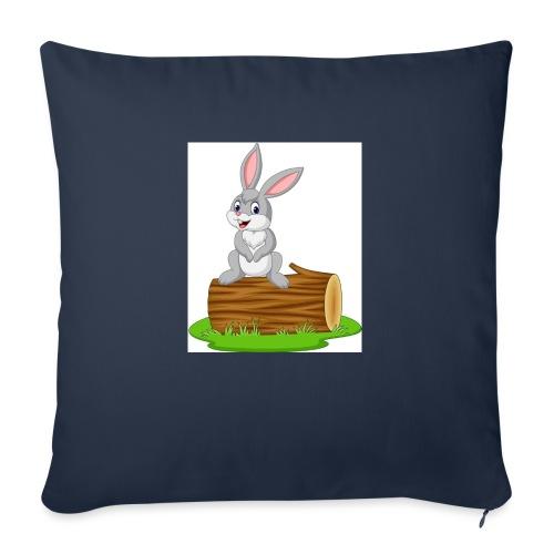 Kanin - Soffkudde med stoppning 44 x 44 cm