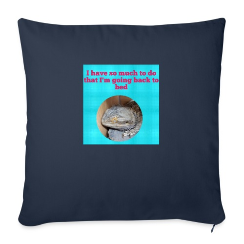 The sleeping dragon - Sofa pillow with filling 45cm x 45cm