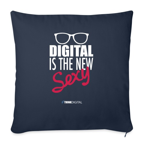 DIGITAL is the New Sexy - Lady - Cuscino da divano 44 x 44 cm con riempimento