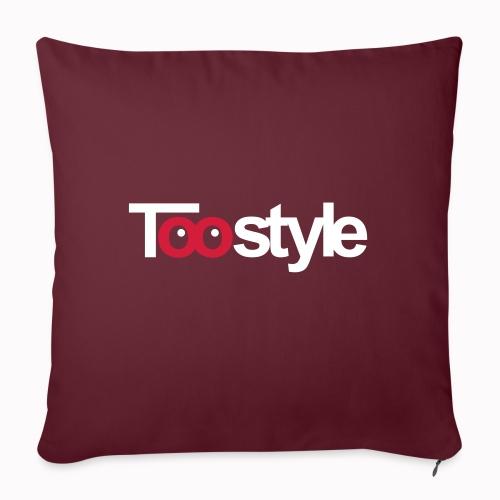 Toostyle white - Cuscino da divano 44 x 44 cm con riempimento