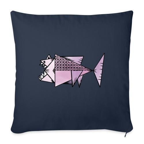 Lilla fisk - Soffkudde med stoppning 44 x 44 cm