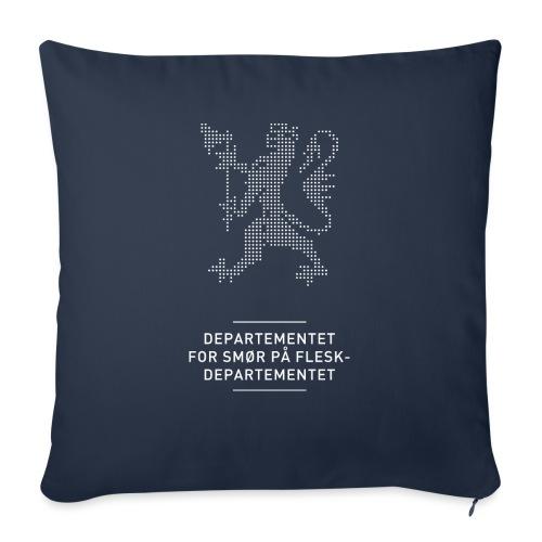 Departementsdepartementet (fra Det norske plagg) - Sofapute med fylling 44 x 44 cm
