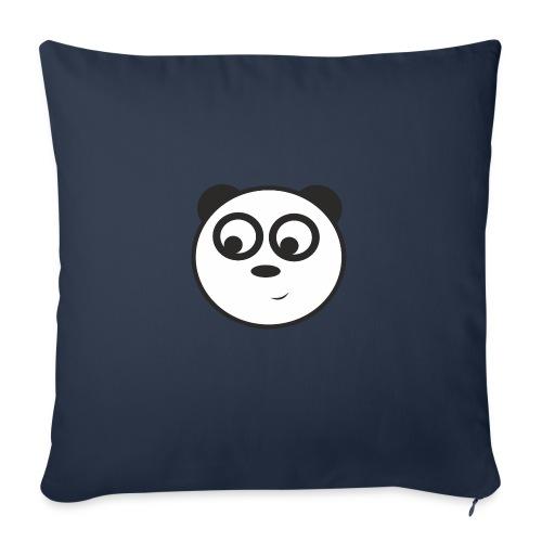 panda face /cara de panda - Cojín de sofá con relleno 44 x 44 cm