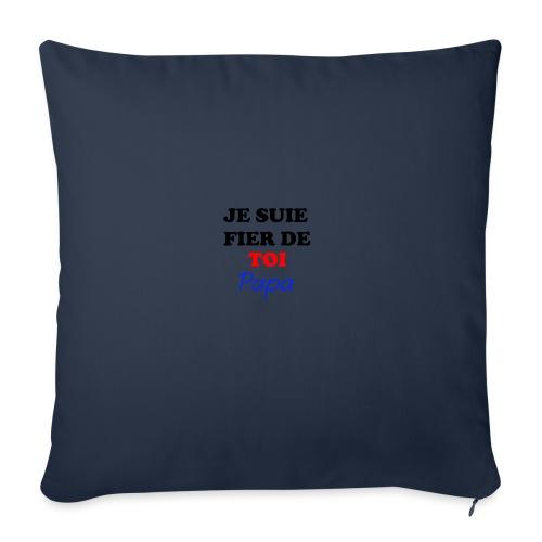 JE SUIE FIER DE TOI PAPA - Sofa pillow with filling 45cm x 45cm