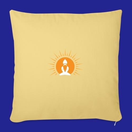 Guramylyfe logo white no text - Sofa pillow with filling 45cm x 45cm