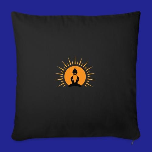 Guramylife logo black - Sofa pillow with filling 45cm x 45cm