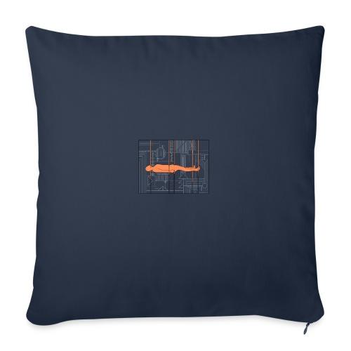DIAGRAMME - Coussin et housse de 45 x 45 cm