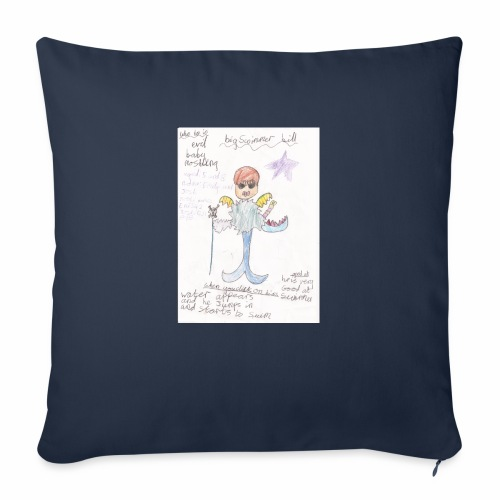 Big Swimmer Bill DHIRT - Sofa pillow with filling 45cm x 45cm