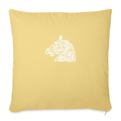 horse - cheval blanc - Coussin et housse de 45 x 45 cm
