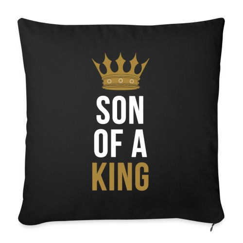 Son of a King Vater Sohn partnerlook - Sofakissen mit Füllung 44 x 44 cm