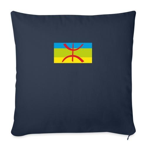 drapeau berbere tamazgha - Coussin et housse de 45 x 45 cm