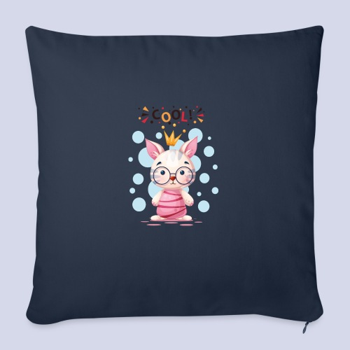 Nice Cat, Kitty Design for everyone - Sofa pillow with filling 45cm x 45cm
