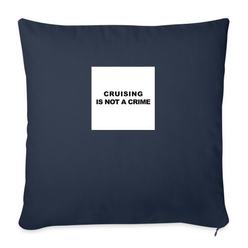 badge009 - Coussin et housse de 45 x 45 cm