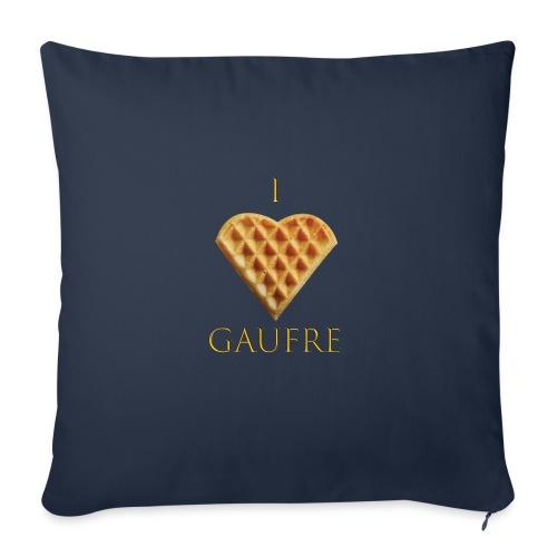 i love gaufre - Coussin et housse de 45 x 45 cm