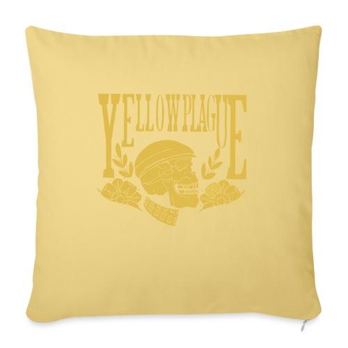 Yellow Plague Gold - Sohvatyynyt täytteellä 44 x 44 cm