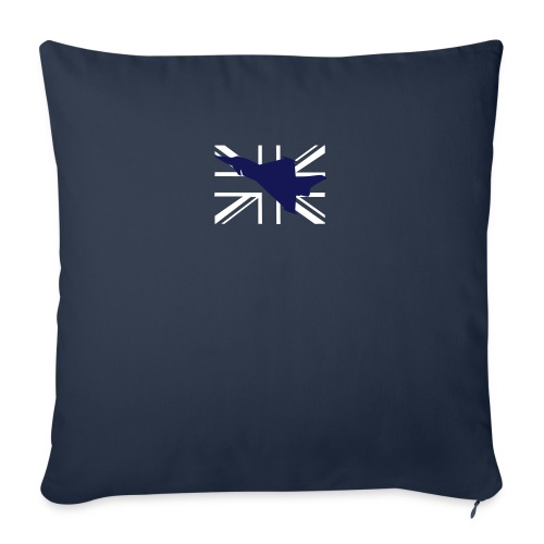 ukflagsmlWhite - Sofa pillow with filling 45cm x 45cm