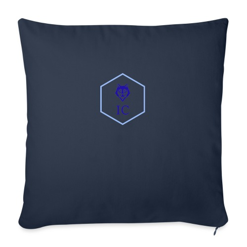 logo small - Cuscino da divano 44 x 44 cm con riempimento