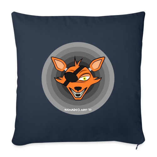 Five Nights at Freddy's - FNAF Foxy - Sofa pillow with filling 45cm x 45cm