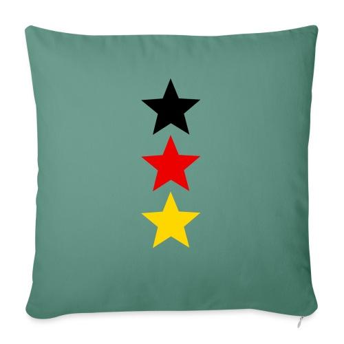 3 Sterne Deutschland #1 - Sofakissen mit Füllung 44 x 44 cm