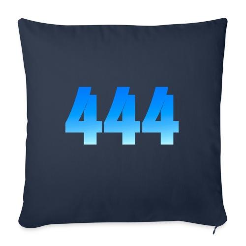 444 annonce que des Anges vous entourent. - Coussin et housse de 45 x 45 cm