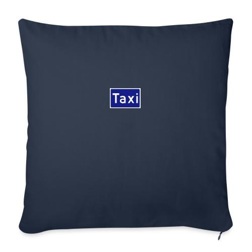Taxi - Sofapute med fylling 44 x 44 cm